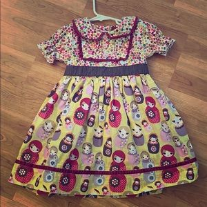 Matilda Jane Anastaysia Nesting Doll dress